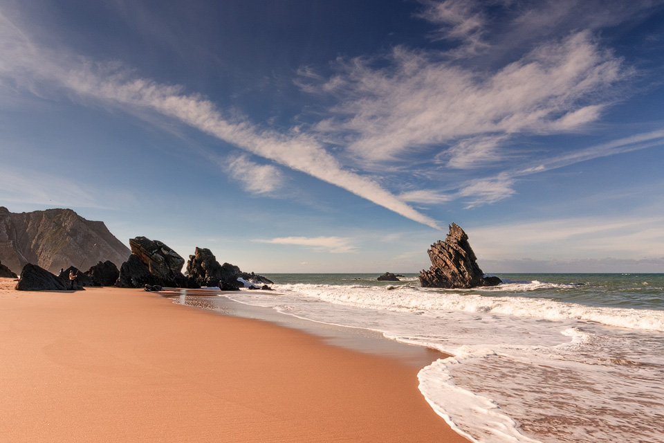 Praia da Adraga (08/12/2005 – 12:52), Canon EOS 300D, 1/320@f/11, ISO 100